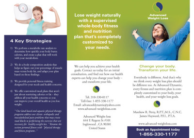 Advanced Weight Loss Brochure