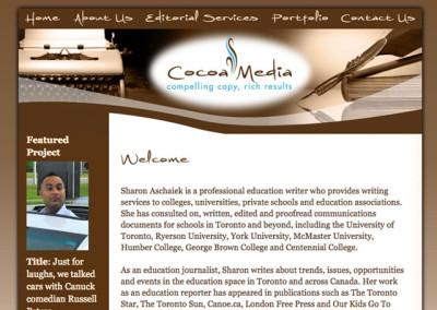 Cocoa Media Website