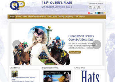Queen's Plate Website