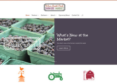 Sam Smith Farmers Market Website