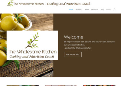 The Wholesome Kitchen Website