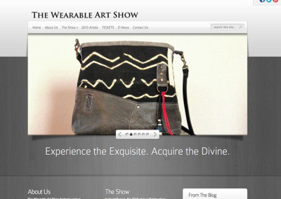 The Wearable Art Show Website
